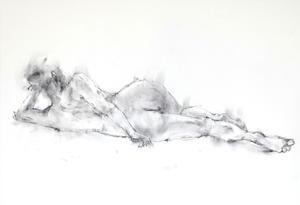 《桜も散って3》 - 画室『游』croquis・ drawing・dessin・ sketch