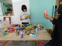 お散歩人形その2〜描く活動を楽しむ - キッズクラフト子ども絵画造形教室・大阪市淀川区と豊中・箕面