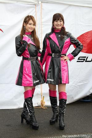 今井 緑 さん & 朝倉恵理子 さん(EXEDY Racing Girls) - Peach Body
