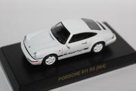 "1/64 Kyosho PORSCHE 4 ""Secret"" 911 RS [964] - 1/87 SCHUCO & 1/64 KYOSHO ミニカーコレクション byまさーる"