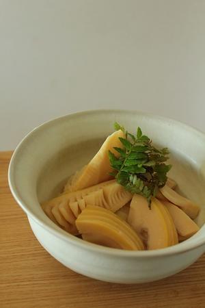 旬の筍、ごちそうさまでした。 - はぐくむキッチン