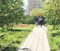 春の空中公園ハイライン - ニューヨークの遊び方