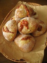 インカのめざめとチェダーチーズのパン - slow life,bread life