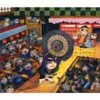 ネコ歌舞伎と、のの太郎 海を渡る・・・その後 - 続ねこのひと~むらよしみのぶろぐ