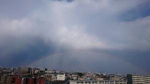 都心に虹。 - 青いブログ