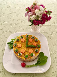 花時計寿司 - ミトンのマクロビキッチン