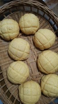 ホシノ天然酵母のメロンパン - 京都のパン教室 気まぐれパン教室 paysan