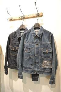 OMNIGOD:2nd Denim Jacket - JUILLET