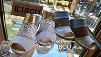 """2017 New Brand ""KISCO"" ミュール...4/29sat"" - SHOP ◆ The Spiralという館~カフェとインポート雑貨のある次世代型セレクトショップ~"