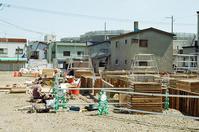 山鼻地区の建築現場の弁当とカレー店と露出計の確認 - 照片画廊