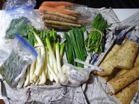 実家からの野菜2017 第二段!越冬野菜&実家煮ツボミ菜 - ROUTE・G DRIVE AFTER DEATH