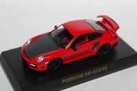 1/64 Kyosho PORSCHE 4 Online Ver. 911 GT2 RS - 1/87 SCHUCO & 1/64 KYOSHO ミニカーコレクション byまさーる