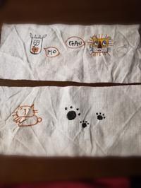 布にお絵描き♪ - とにかく手作り。