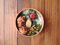 4/28(金)鶏の塩からあげ弁当 - おひとりさまの食卓plus