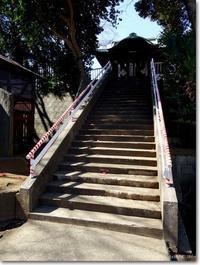 【し】神社階段:じんじゃかいだん - ネコニ☆マタタビ