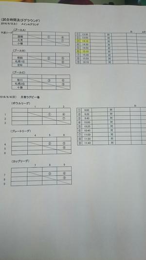 7人制地区予選 - 旭川龍谷高校 ラグビーフットボール部