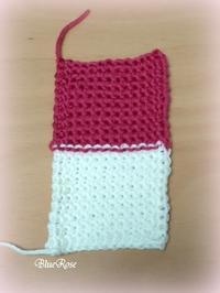 アフガン編み 編み直しました - ルーマニアン・マクラメに魅せられて