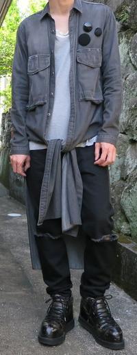 ロングシャツ、ヘビロテ中 - メンズファッション塾-ネクステージ-