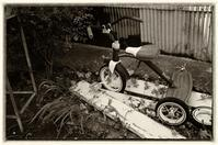 A tricycle - Slow Photo Life