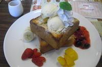 ジョナサン 『四種フルーツのハニートースト』 - My favorite things
