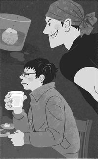 ☆お仕事☆推理小説挿絵 - *クリタミノリのイラストの仕事と日々のメモ*