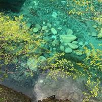 ユーシン渓谷のブルー - 羊毛フェルトでプチ・ボヌール
