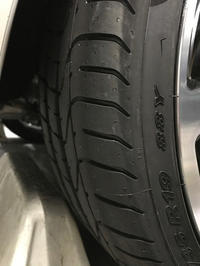 タイヤ交換 VW Golf GTI クラブスポーツ     - zesta E style