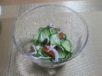 さっぱり爽やか☆彡きゅうりとトマトのわさび風味酢の物 - candy&sarry&・・・2