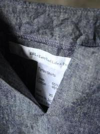 EEL サンデーシャツ 1/2 - 【Tapir Diary】神戸のセレクトショップ『タピア』のブログです