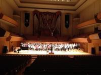 ♪第2回合同演奏会(指揮; 橋本剛)〜旅、終了 - ピアニスト&ピアノ講師 村田智佳子のブログ