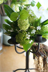 Bouquet rond 'muguet' ~ すずらんの日* - * Spice of My Life *