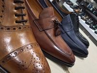日本の名靴と、靴の聖地イタリアのコラボレーション - 玉川タカシマヤシューケア工房 本館4階紳士靴売場