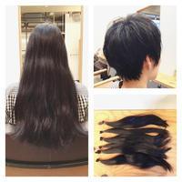 ヘアドネーションにご協力頂いたK様! - 東京都荒川区にある尾久駅前の美容室 WEST HAIR DESIGNのブログ