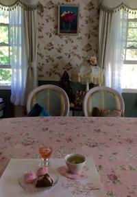 素敵なティータイムのお誘い - coco diary 山口県 お花と絵とテーブルコーディネートレッスン