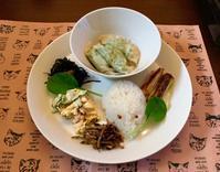 パクチー水餃子のワンプレートとジャガイモニョッキ - カフェ気分なパン教室  ローズのマリ