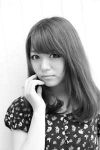 堀川愛美ちゃん187 - モノクロポートレート写真館