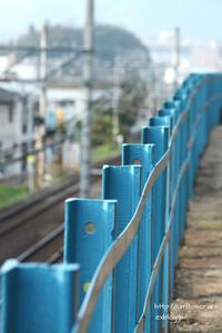 青と電車 - 一瞬をみつめて