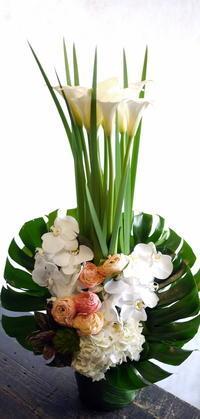四十九日に。余市町に発送。2017/04/28着。 - 札幌 花屋 meLL flowers