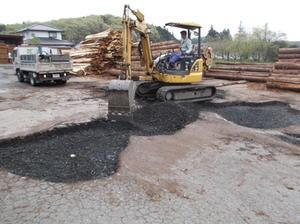 土間補修 - 建築現場でひとりごと