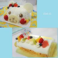 ☆ こどもの日デコレーションケーキ&ロールケーキ ☆ - Ciel Clair