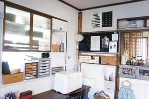 アトリエの整理整頓* - yasumin's cafe*