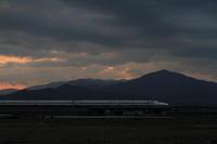 空振り後 - 新幹線の写真