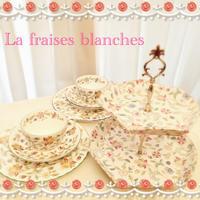 MINTONのケーキスタンド - La fraises blanches~カルトナージュ&ハンドメイド~