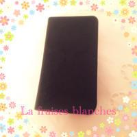 iPhoneケース - La fraises blanches~カルトナージュ&ハンドメイド~