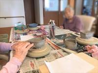 【本日の出張教室】 - 出張陶芸教室げんき工房