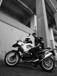 秋元 学徳 & BMW R1200GS Rallye(2017.04.16) - 君はバイクに乗るだろう