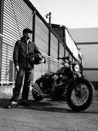 荒井 則行 & Harley-Davidson XL1200N(2017.04.16) - 君はバイクに乗るだろう