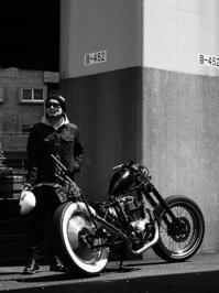 佐藤 侑吾 & kawasaki 250TR(2017.04.13) - 君はバイクに乗るだろう