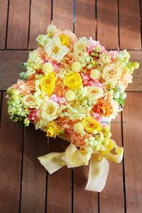 プリザーブドギフト 元新郎新婦様より 仕事をするにあたり、最も大切なことは - 一会 ウエディングの花