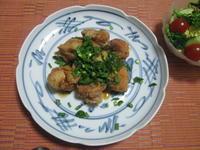 クセになる味わい(^o^)/  鶏から揚げのニラソースがけ - candy&sarry&・・・2